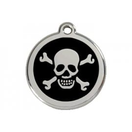 Médaille Tête De Mort Pour Chien