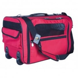 Valise Toile Rouge