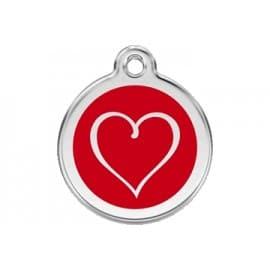 Médaille Chien Coeur
