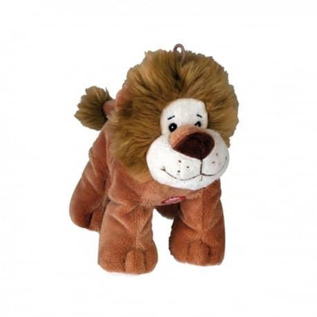Peluche Sonore et Couineuse Lion pour Chien