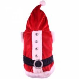 Déguisement Père Noël pour Chien