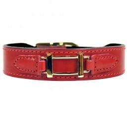 Collier Hermes Style Ferrari Red
