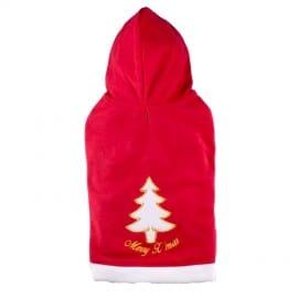 Pull Polaire de Noël pour Chien de Luxe