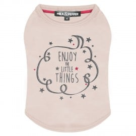 Tee-Shirt Rose Pastel pour Chienne