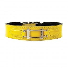 Collier Hermes Style Canary Yellow